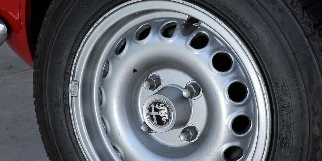 Alfa Romeo GTA, Rad, Felge