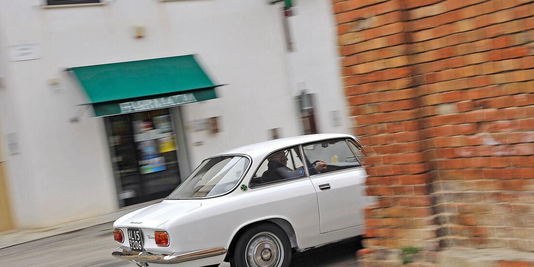 Alfa Romeo Giulia Sprint GT, Heck