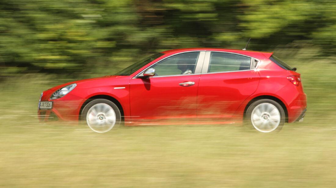 Alfa Romeo Giulietta 1.4 TB 16V, Seitenansicht