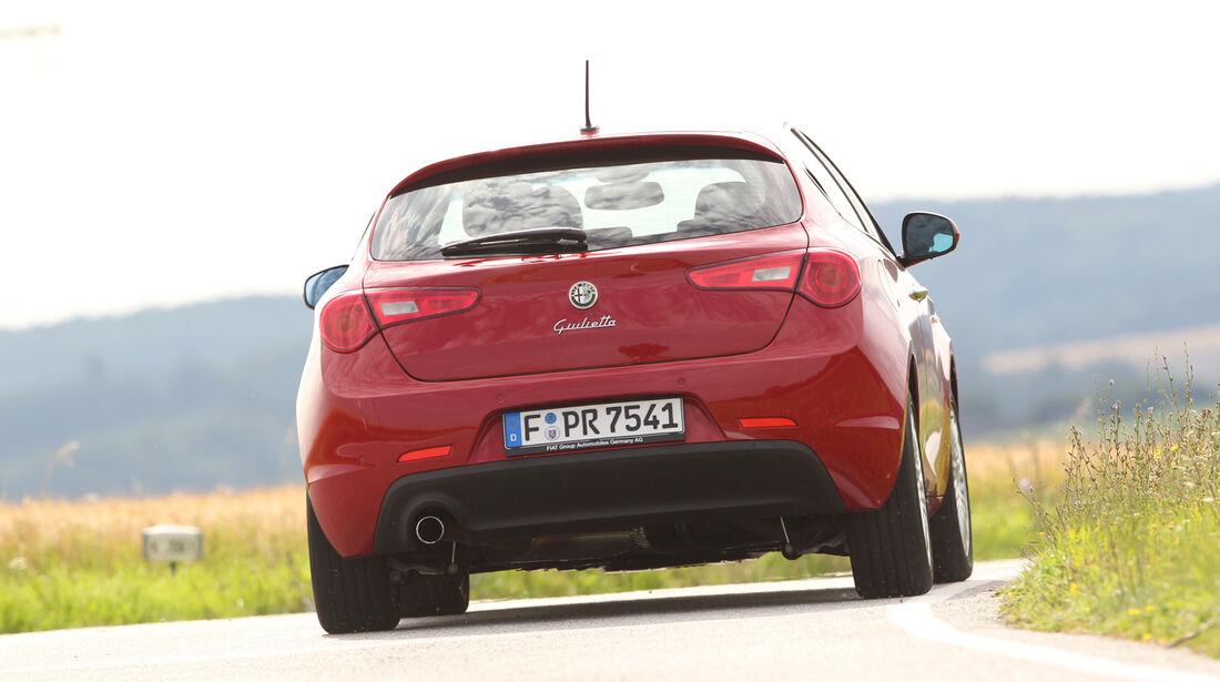 Alfa Romeo Giulietta 1.4 TB, Heckansicht