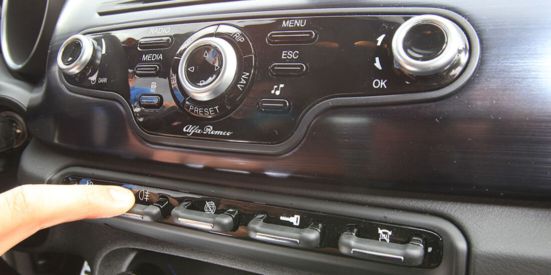 Alfa Romeo Giulietta Instrumente
