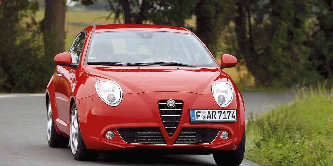 Alfa Romeo Mito 1.4, Frontansicht