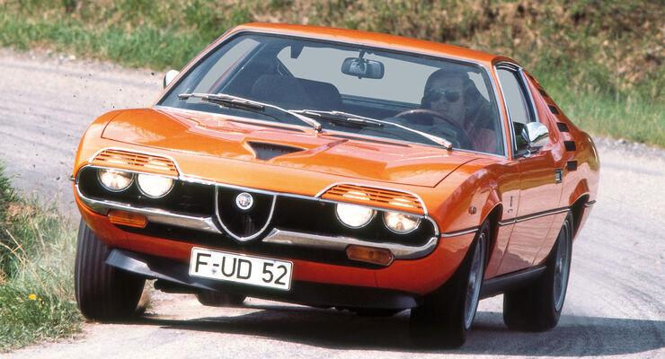 Alfa Romeo Montreal, Frontansicht