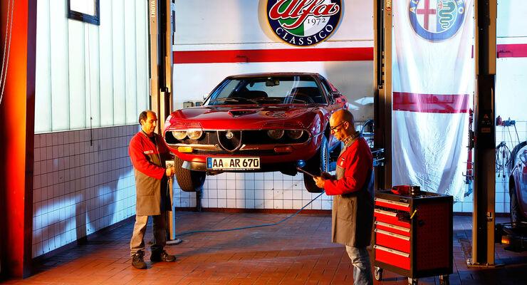 Alfa Romeo Montreal, Werkstatt