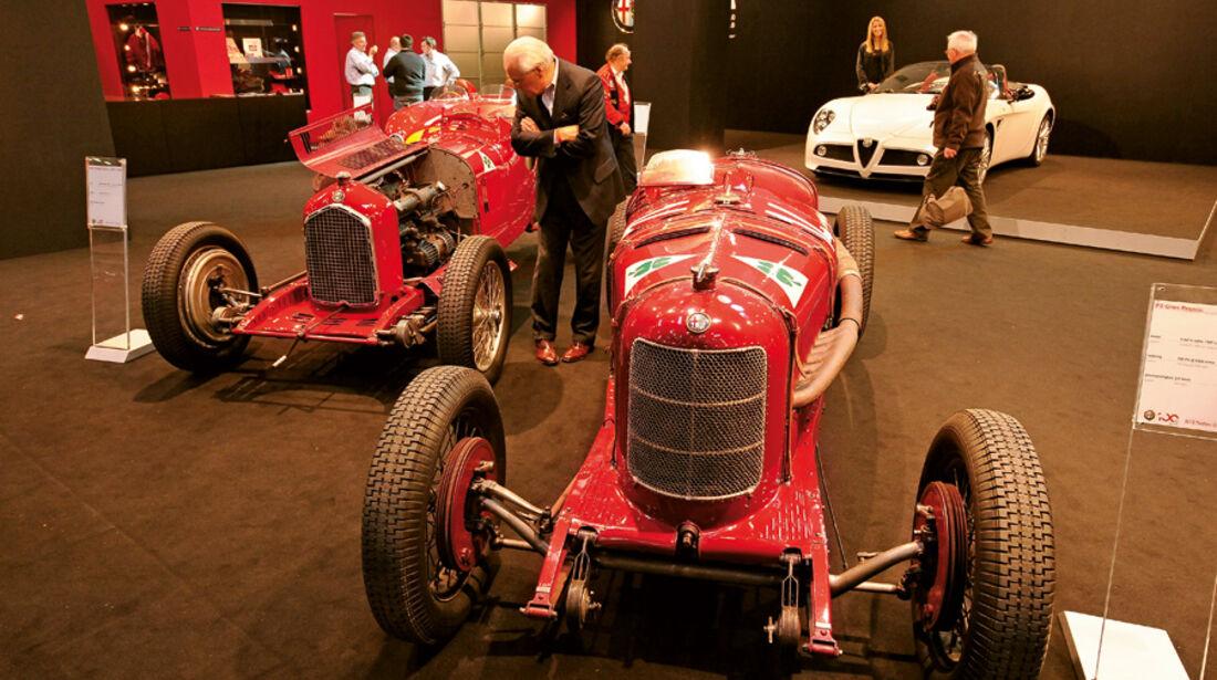 Alfa Romeo P3 und P3  auf der Techno-Classica 2010