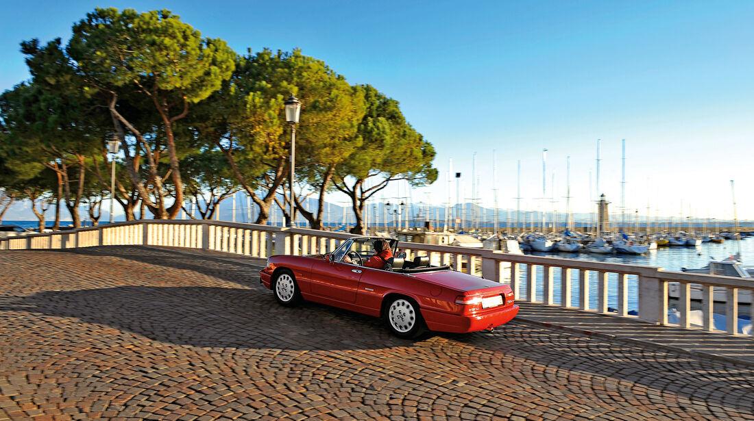 Alfa Romeo Spider 2.0, Seitenansicht