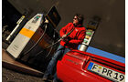 Alfa Romeo Spider 2.0, Tankstelle