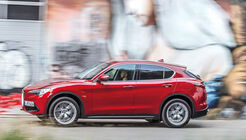 Alfa Romeo Stelvio 2.0 Turbo Q4 First Edition, Außenansicht