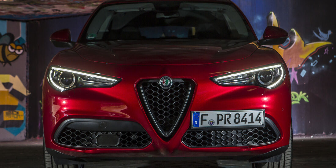 Alfa Romeo Stelvio 2.0 Turbo Q4 First Edition, Front