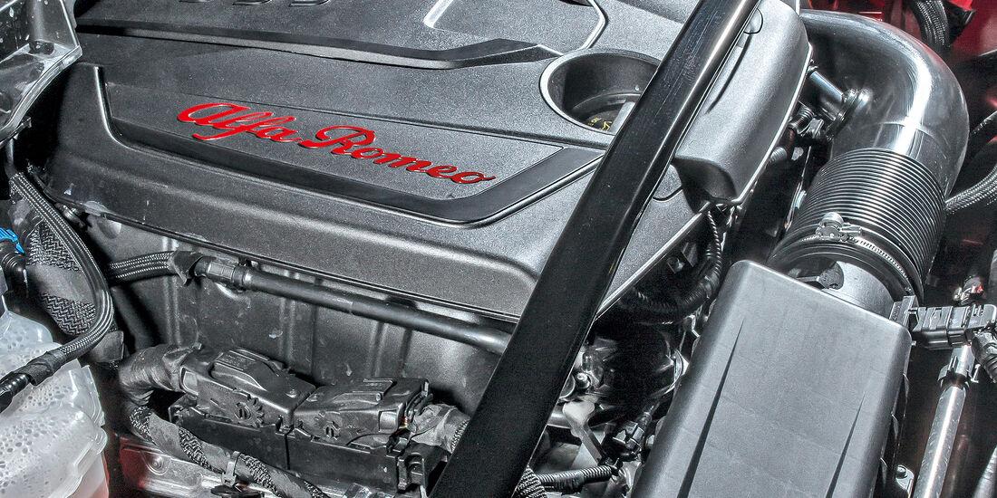Alfa Romeo Stelvio 2.0 Turbo Q4 First Edition, Motor