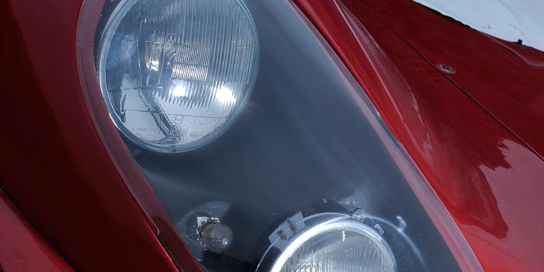 Alfa Romeo T33/3, Scheinwerfer