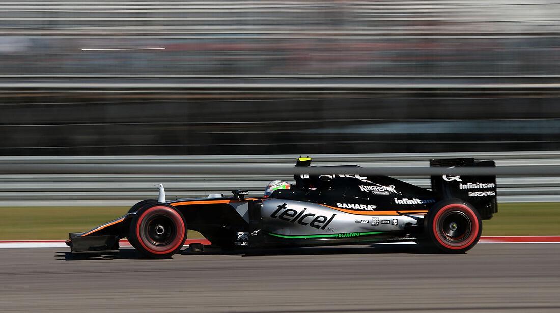 Alfonso Celis - Force India - Formel 1 - GP USA - Austin - 21. Oktober 2016
