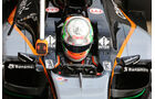 Alfonso Celis - Force India - Formel 1-Test - Barcelona - 25. Februar 2016