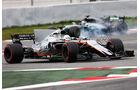 Alfonso Celis Jr. - Force India - Formel 1 - Test - Barcelona - 1. März 2017