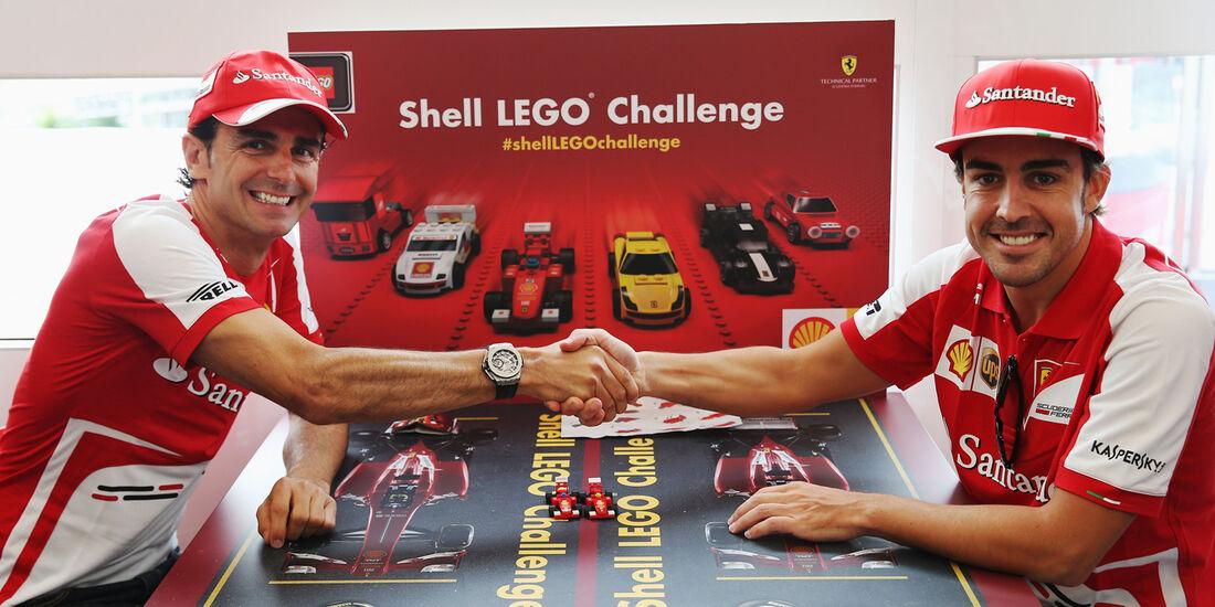 Alonso & De la Rosa - Lego - GP Ungarn 2013