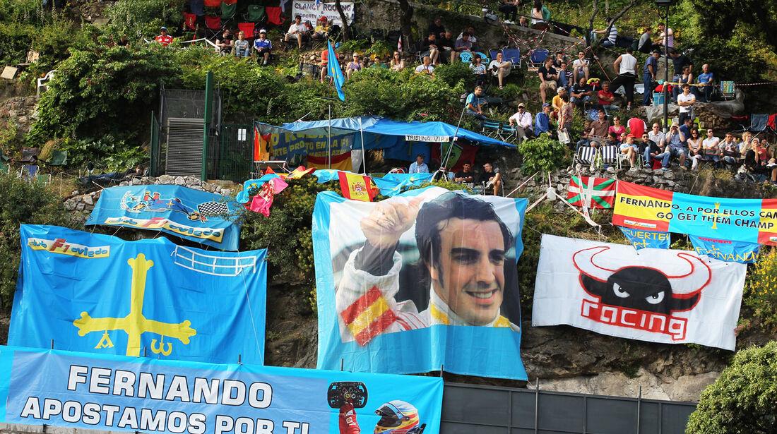 Alonso-Fans - Formel 1 - GP Monaco - 26. Mai 2012