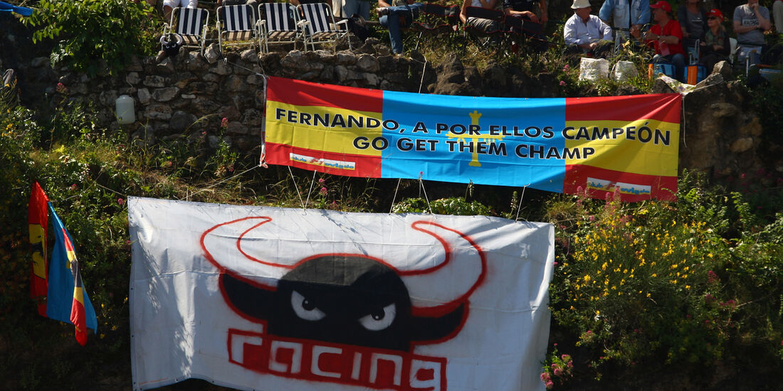 Alonso-Fans - Formel 1 - GP Monado - 24. Mai 2012