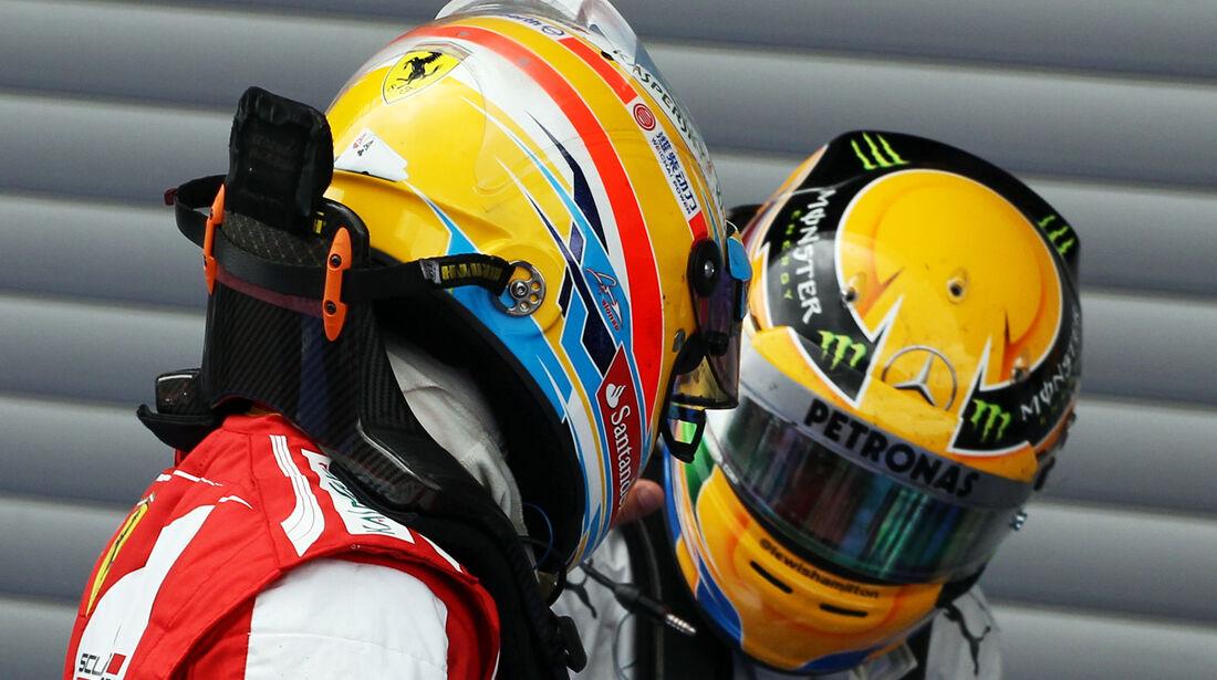 Alonso & Hamilton - GP Belgien 2013