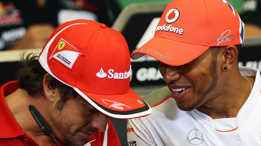 Alonso & Hamilton - GP Europa - Valencia - 21. Juni 2012