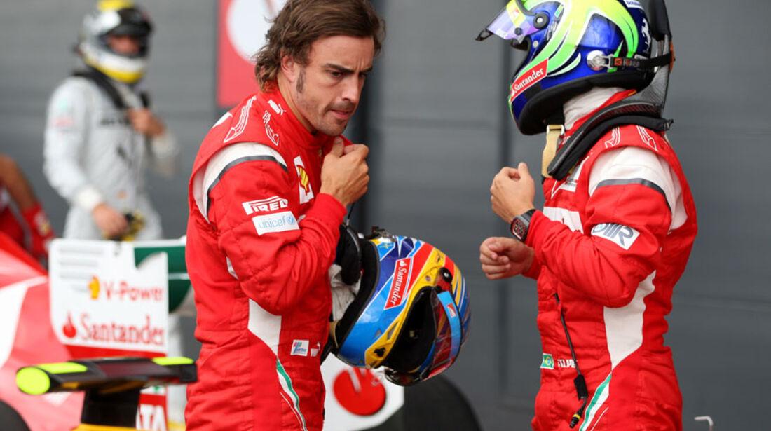 Alonso & Massa - GP England - Qualifying - 9. Juli 2011