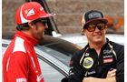 Alonso & Räikkönen - GP Italien 2013