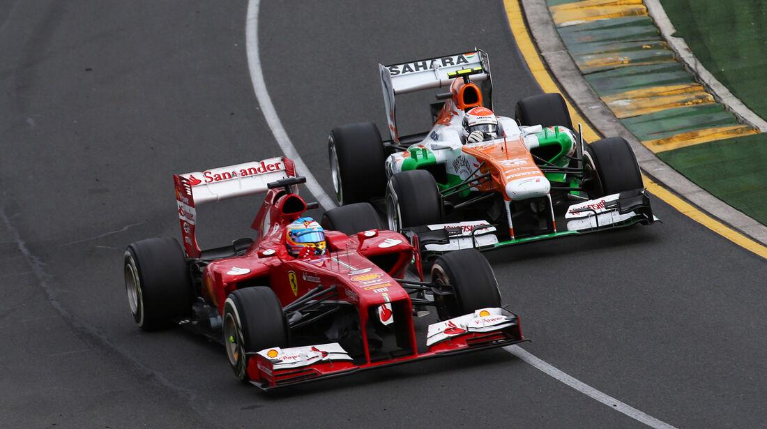 Alonso & Sutil - GP Australien 2013