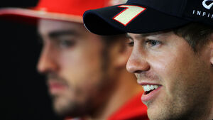 Alonso & Vettel - Formel 1 - GP USA - Austin - 15. November 2012