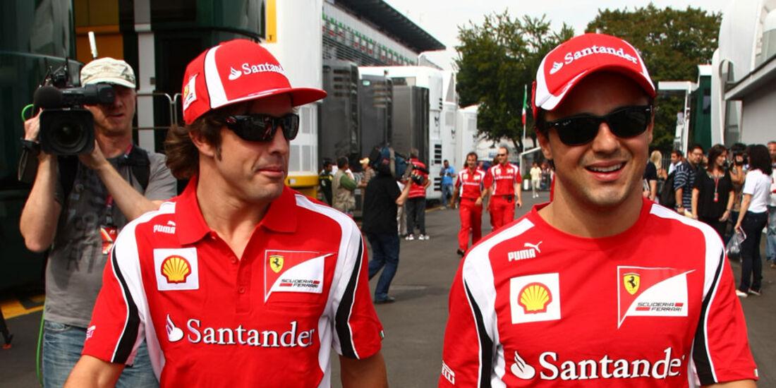 Alonso und Massa GP Italien 2011