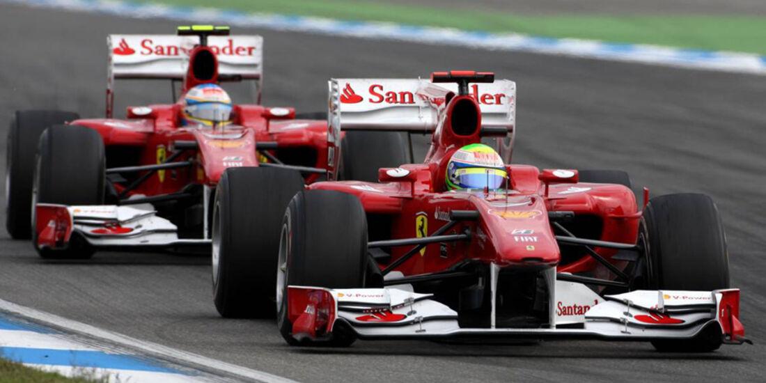 Alonso und Massa in Hockenheim