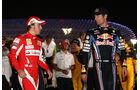 Alonso und Webber