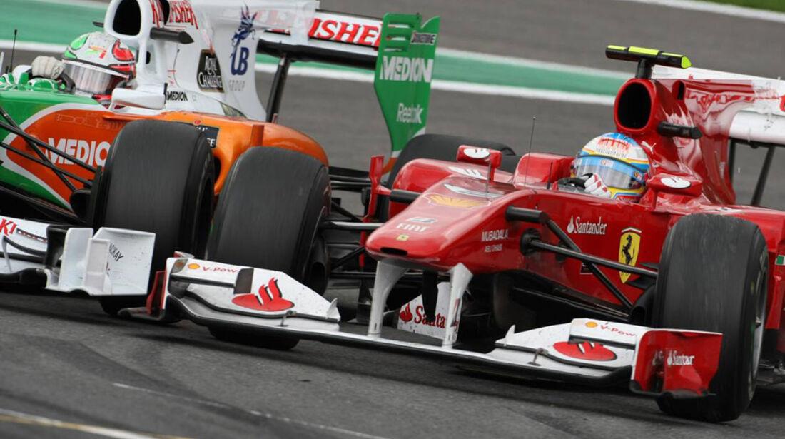 Alonso vs. Liuzzi