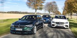 Alpina B5 Biturbo Touring, Audi RS6 Avant Performance, Mercedes-AMG E 63 S T-Modell, Exterieur