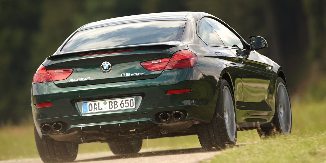 Alpina B6 Biturbo Coupé Edition 50, Heckansicht