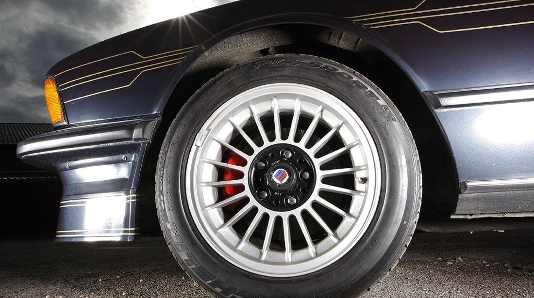 Alpina-Speichenräder am BMW Alpina B7