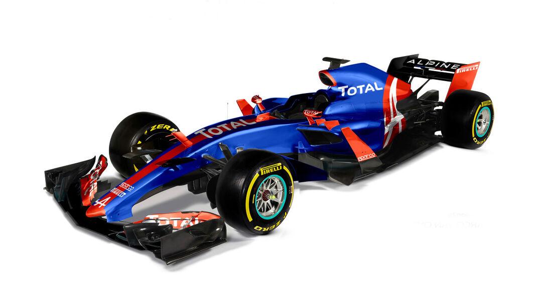 Alpine - Formel 1 2017 - Designs - Sean Bull