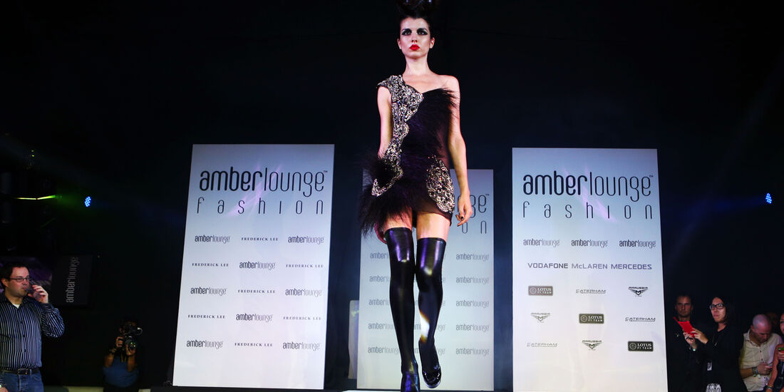 Amber Lounge Girls - GP Singapur 2013
