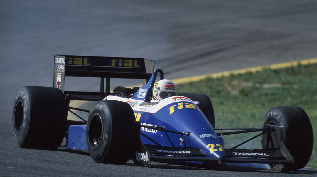 Andrea de Cesaris - GP Spanien 1988 - Rial