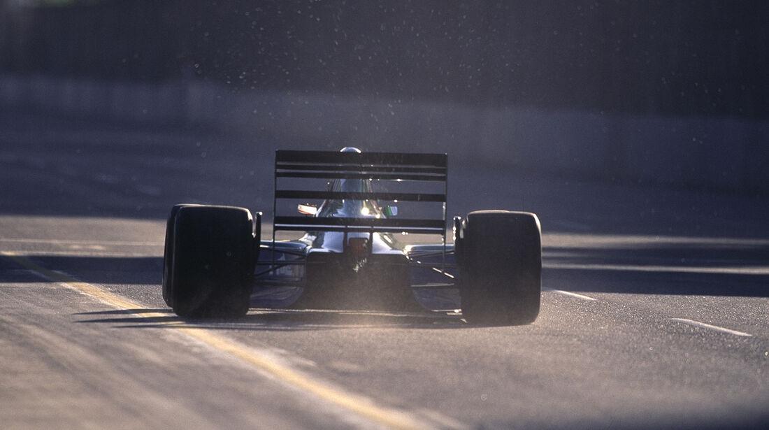 Andrea de Cesaris - GP USA 1991 - Jordan