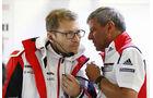 Andreas Seidl - Fritz Enzinger - Porsche - 24h Le Mans - Sonntag - 19.06.2016