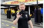 Andy Stobart - Renault-Presse - Formel 1 - GP Deutschland - Hockenheim - 28. Juli 2016