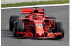 Antonio Giovinanzzi - Ferrari - F1-Test - GP Spanien - Barcelona - Tag 2 - 16. Mai 2018