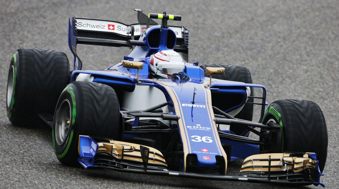 Antonio Giovinazzi - Sauber - Formel 1 - GP China 2017 - Shanghai - 7.4.2017
