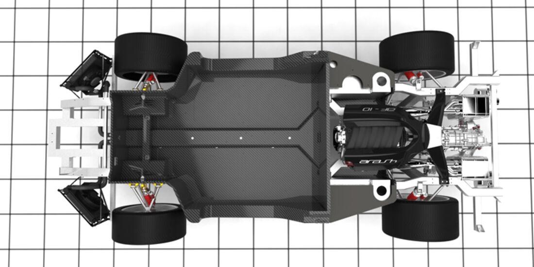 Arash AF-10, Supersportwagen, Chassis