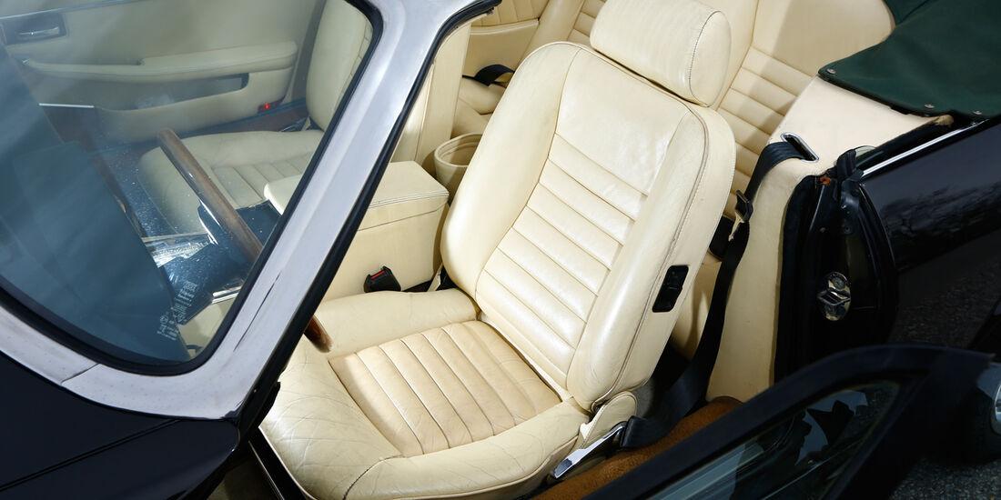 Arden-Jaguar AJ2, Fahrersicht