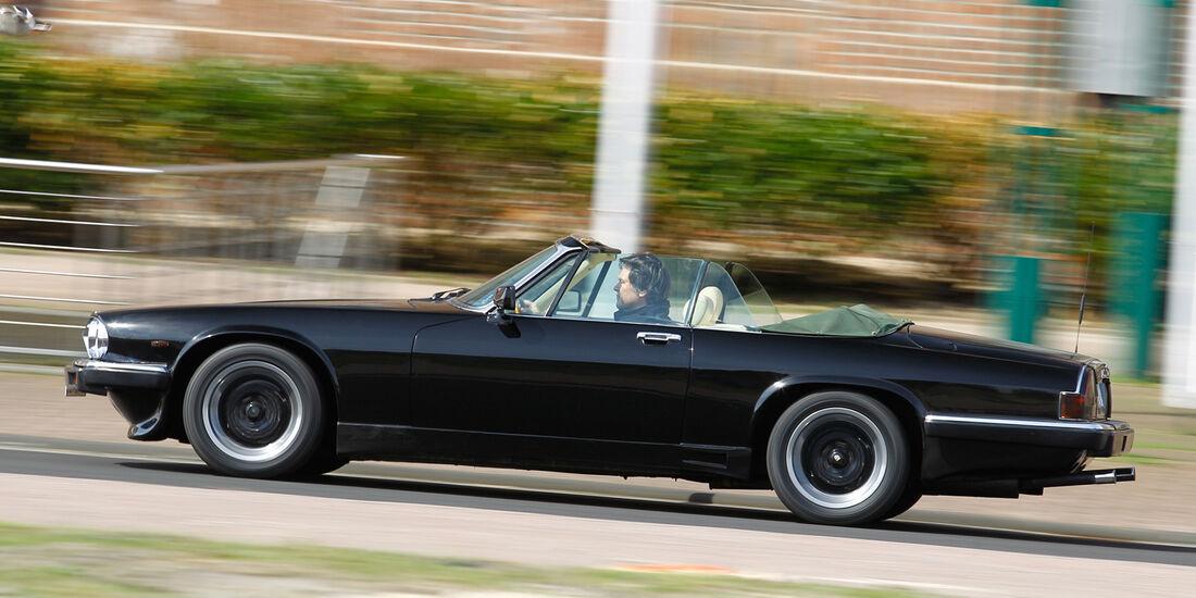 Arden-Jaguar AJ2, Seitenansicht
