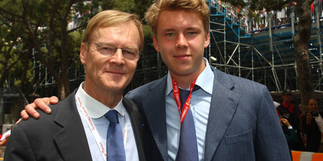 Ari Vatanen beim GP Monaco