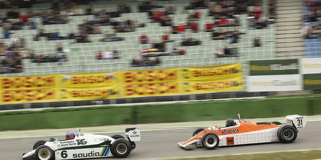 Arrows A4 -Ford (1982) und Williams FW08-Ford (1982)