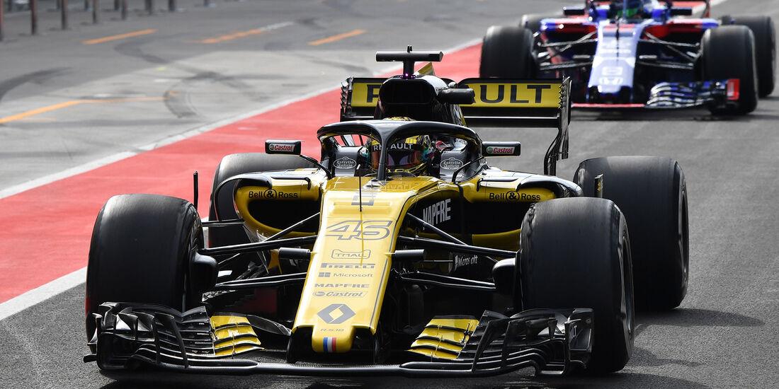 Artem Markelov - Renault - F1-Test - Budapest - 1. August 2018