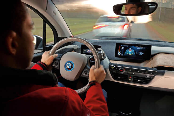 Assistenzsysteme, BMW, Cockpit
