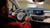 Assistenzsysteme, BMW, Cockpit